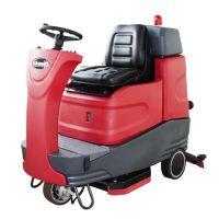 湖南大型地下车库清洗专用驾驶式洗地机供应_克力威XD80