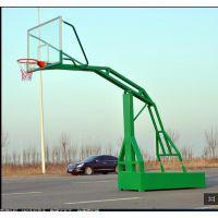塘厦方管移动篮球架厂家 左图是一种移动篮球架 东莞康腾体直销篮球架