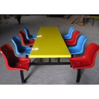 厂家供应食堂餐桌八人位圆桌
