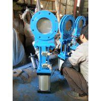 气动耐磨刀型闸阀PZ673H-10C、PZ673Y-16P、PZ673X