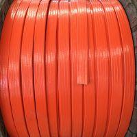 上海标柔TVVBG-TV钢丝加强电梯视频扁电缆
