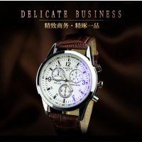 天朗格韩版瑞士蓝光手表 潮流男表时尚休闲个性防水学生手表非机械男表