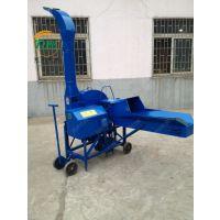 青贮铡草柔丝机 润华自动进料饲料加工设备