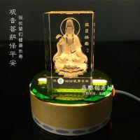 汕头创意定制led水晶工艺礼品卧室小夜灯 结婚礼品|生日礼物