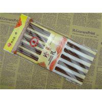 十双原木纯天然优质红檀木筷 木筷子 无漆无蜡家居酒店用品