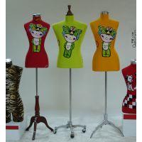 橱窗模特道具 半身 包布半身女模特  定做各种样式包布模特