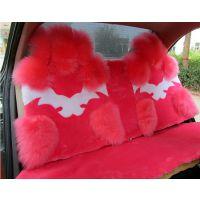 新款羊毛坐垫 汽车坐垫厂家批发 秋冬季毛绒座垫座套 汽车用品