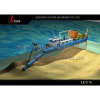 专业生产大中小型树俊机械 沿海铰刀式疏浚设备耙吸式射吸式液压船