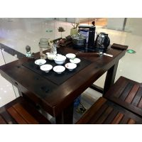 老船木茶桌红木茶几阳台实木功夫喝茶桌船木茶台餐桌茶艺桌家具