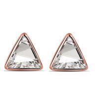 三角形耳饰水晶首饰耳环女-屋顶上的秘密1341 中高档饰品