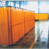 高藤门业供应焊接防护帘、焊接防护隔断、防弧光板001