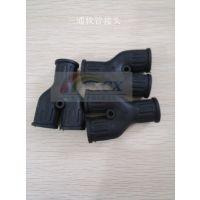 2*AD13/AD15.8 Y三通PA管固定头 ACX品牌厂家直销