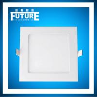 富乔照明·超薄LED面板灯厨房嵌入式铝扣筒灯照明灯卫生间吸顶灯超亮款
