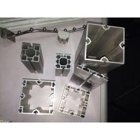 高品质展会搭建方柱铝材 特装大方铝展架材料 优质展馆特装专用方柱工厂直销
