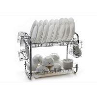 厨房多功能不锈钢餐具架 s型沥水架碗架沥水篮筷子架碗碟架碗筷架