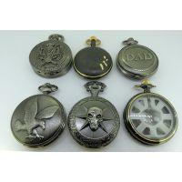 定做机械怀表 不锈钢怀表铜怀表