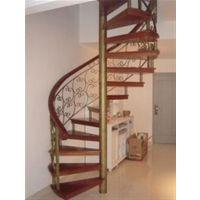 武汉不锈钢旋转楼梯,逸步楼梯,室内不锈钢旋转楼梯效果图