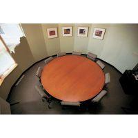 eames高档会议桌,10人圆形会议桌,深圳订做办公家具