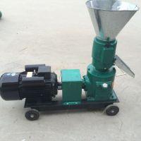 鼎信自产260型平模饲料颗粒机 养殖饲料加工设备