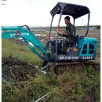 广西履带挖机销售 山鼎园林绿化用小钩机多少钱