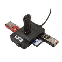 多合一 Combo USB2.0 USB HUB分线器读卡器