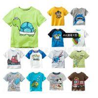 外贸童装 韩版童装批发 儿童夏季短袖T恤 打底衫 广东产地童装