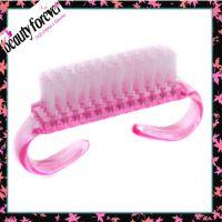 【新】粉红可爱69组尼龙小型指甲刷 DIY系列指甲清洁刷 清洁器