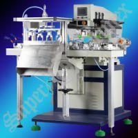 供广东恒晖自动四色油盅移印机SPCCST-816D4A厂家直售价格优惠生产效率高自动上下料移印机