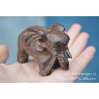 越南沉香手把件大象吉祥物正宗天然木雕工艺品摆件厂家批发