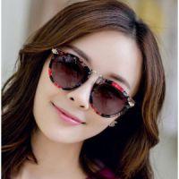 韩版时尚潮复古欧美大框2014新款太阳镜女明星款偏光太阳眼镜墨镜