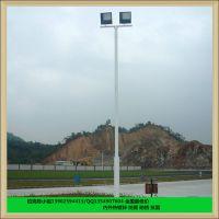 海南篮球场灯杆生产厂家 篮球场一根灯杆配几盏灯具多少瓦