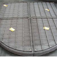 烟囱白雾消除蒸汽滤网丝网除雾器不锈钢 安平上善定做