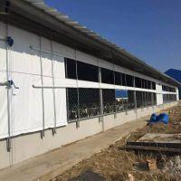 湖北仙桃保暖养殖场卷帘、仙桃透光猪场卷帘布、三防产业用布批发,耐老化、耐用