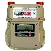 河南金雀电气智能燃气表IC卡铝壳燃气表