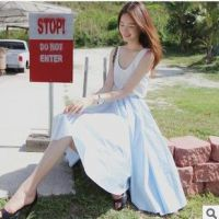 供应可混批 特价好质量韩版女装竹节棉圆领时尚修身百搭背心ZZ2622-1