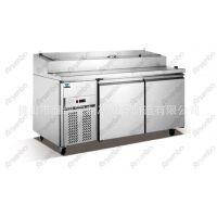 上面开孔订做/沙拉柜/保鲜冷藏设备/订做烘焙设备