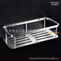 304不锈钢卫浴置物架卫生间网篮挂篮带钢板 沐浴用品 厂家批发