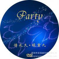 厂家制作可打印蓝光光盘批量DVD刻录复制胶印压制包装定做印刷