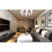 哈尔滨大树装饰公司-万象上东-72平米-现代风格