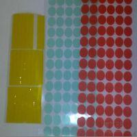 常丰新材料科技直销 PET绿色胶带 烤漆喷涂高温胶带 模切冲型定做
