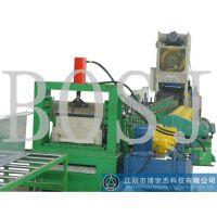 博世杰推荐简易式100-400槽式电缆桥架机组冷弯机械