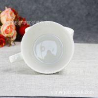唐山厂家直销骨质瓷早餐杯可定制图案创意礼品杯子牛奶杯泡面碗