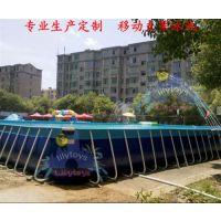 神洲水上乐园专业定制_海口儿童支架泳池_儿童支架泳池安装