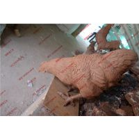 仿真公鸡玻璃钢动物雕塑 园林农庄景观装饰美陈摆设