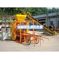 现货供应半自动4-40免烧砖机 小型空心砌块砖机 性能优越