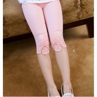 3-10元夏季新款休闲裤男女童糖果色中裤 儿童纯棉单裤 地摊女童童装货源批发