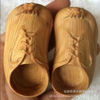 木质工艺品特好崖柏手把件《知足常乐》特色礼品文玩收藏 小脚