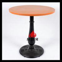 铸铁钢脚餐桌餐厅家具五金工厂批发生产各类中西式餐厅家具餐桌椅