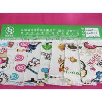 SK-0523# 直销 2014新款卡通光头强印花童装不倒绒面料 高质量