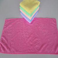 高阳毛巾厂 超细纤维批发 25*50纳米吸水毛巾干发巾 洗车擦车巾